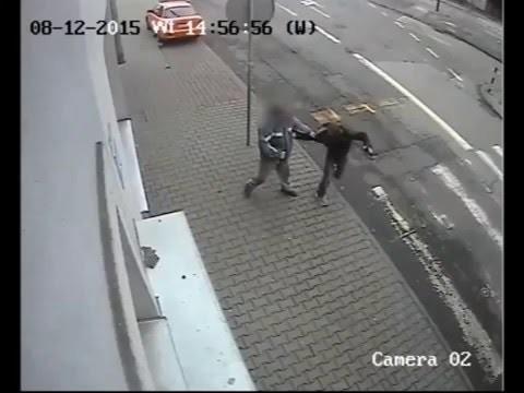 Napad Na Sklep Gliwice, Bezdomny Bohater
