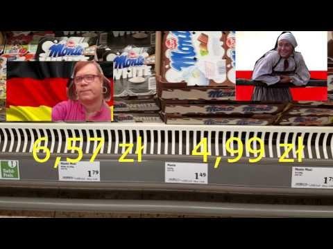 Normalne zakupy w PL i w Nimcach.